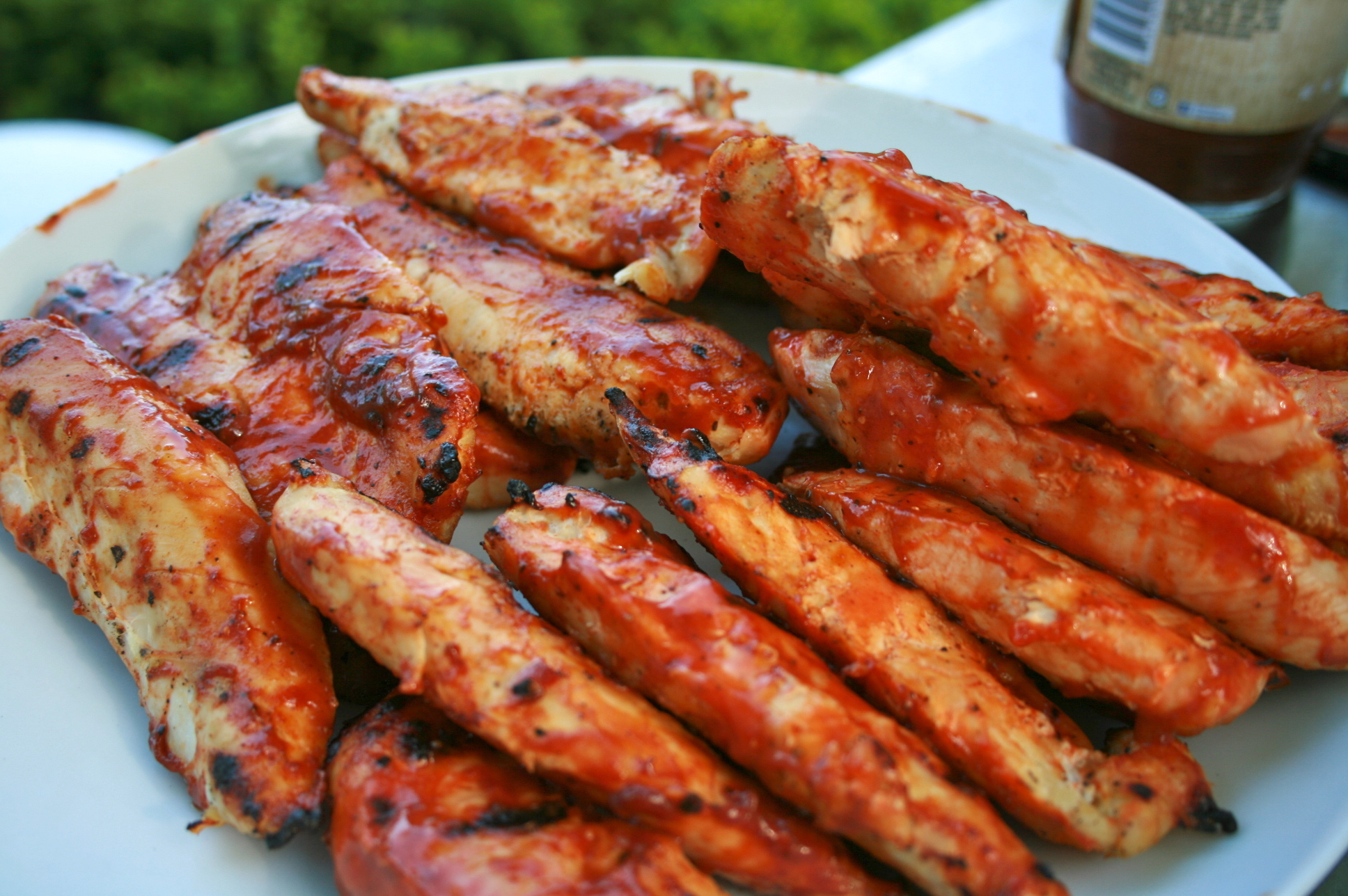 Barbecue Grilling Chicken
