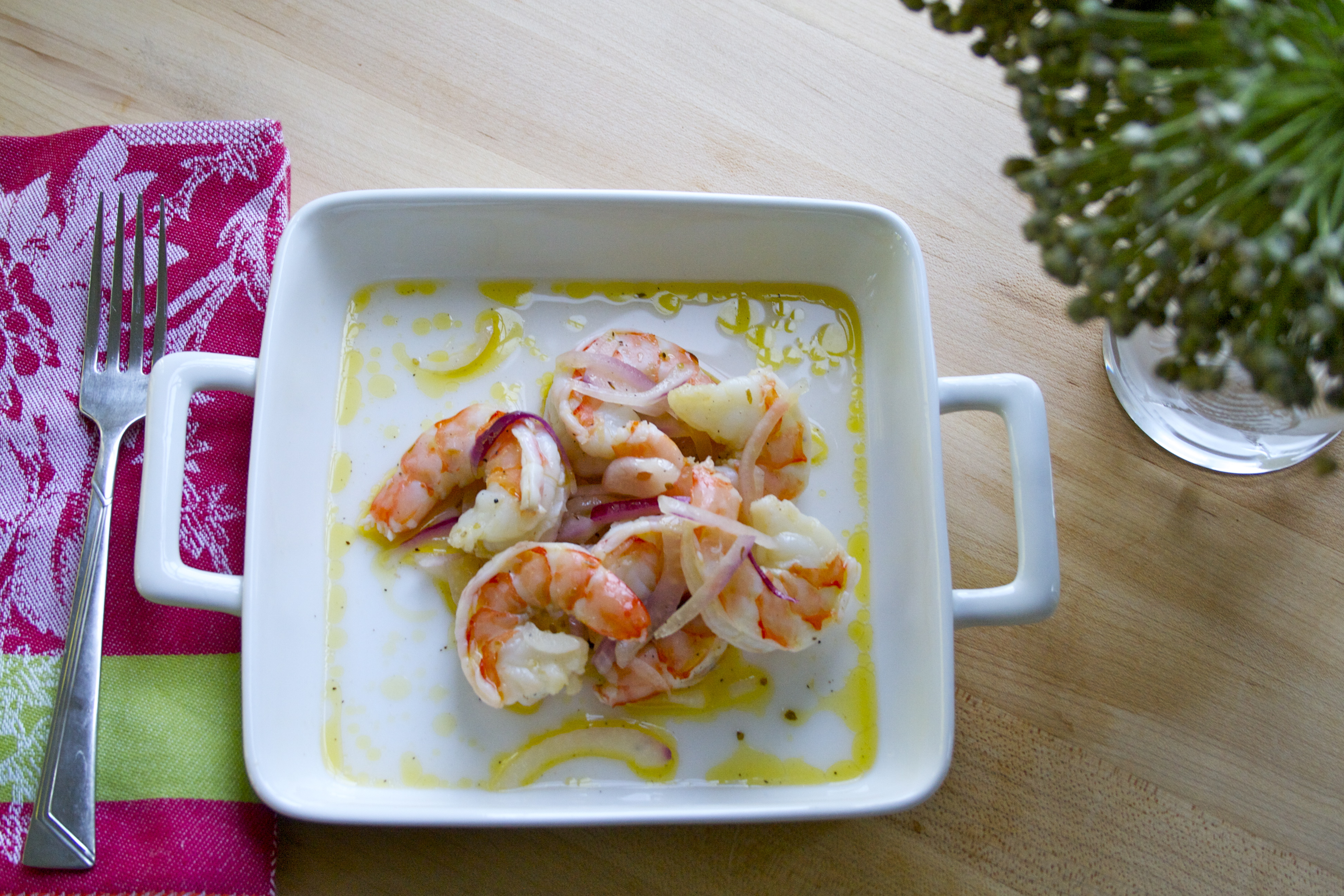 Healthy Shrimp Dish